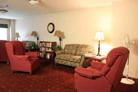 2nd Floor Common Area - Seton Square Wellston - a BRC Properties location