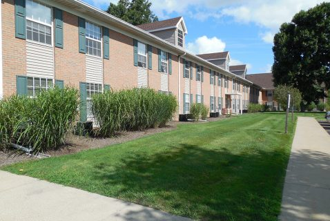 Walkway - Seton Coshocton - a BRC Properties location