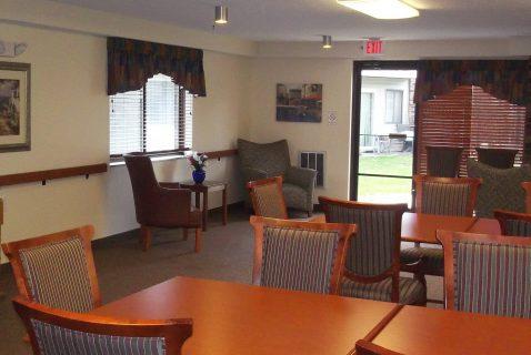Community Room - Seton Square East - a BRC Properties location