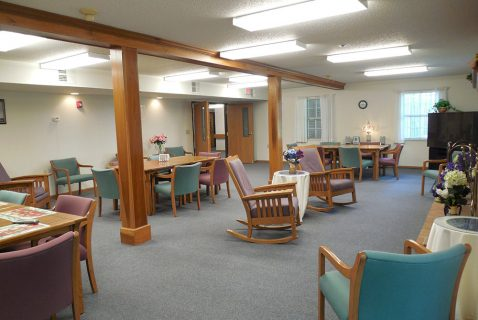 Community Room - Seton Coshocton - a BRC Properties location