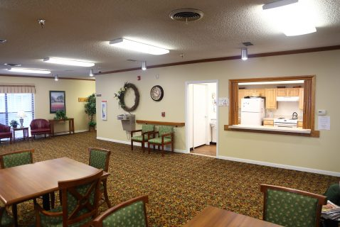 Community Room - Seton Square Marion - a BRC Properties location