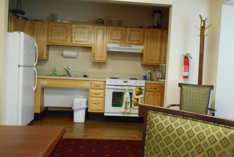 Community Room Kitchen - Seton Lancaster - a BRC Properties location
