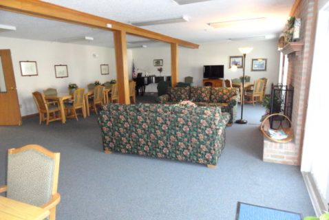 Community Room - Seton Washington Court House - a BRC Properties location
