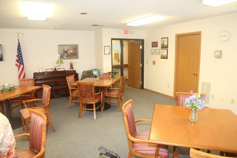 Community Room - Seton South - a BRC Properties location