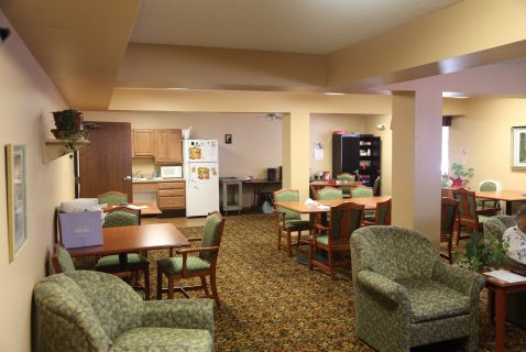 Community Room - Seton Square Zanesville - a BRC Properties location