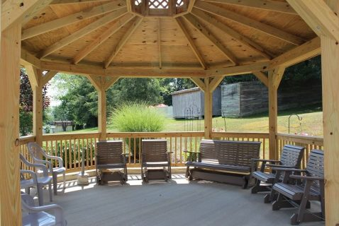 Grounds Gazebo - Seton Square Wellston - a BRC Properties location