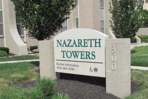 Entrance - Nazareth Towers - a BRC Properties location
