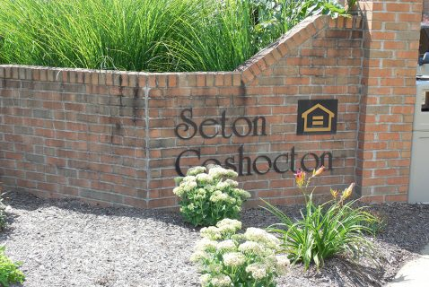 Entrance - Seton Coshocton - a BRC Properties location