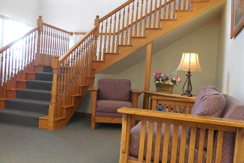 Stairway - Seton Coshocton - a BRC Properties location