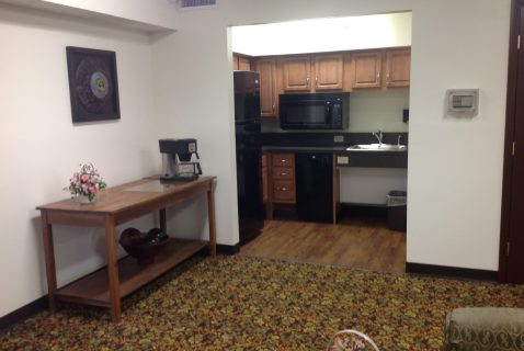 Community Room Kitchen - Seton Kenton - a BRC Properties location