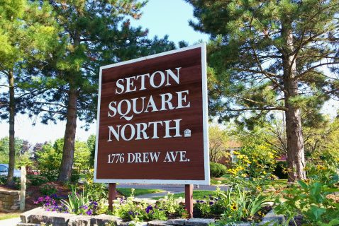 Entrance - Seton Square North - a BRC Properties location