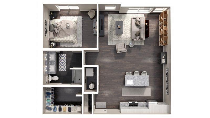 Borror Floorplan 985 High