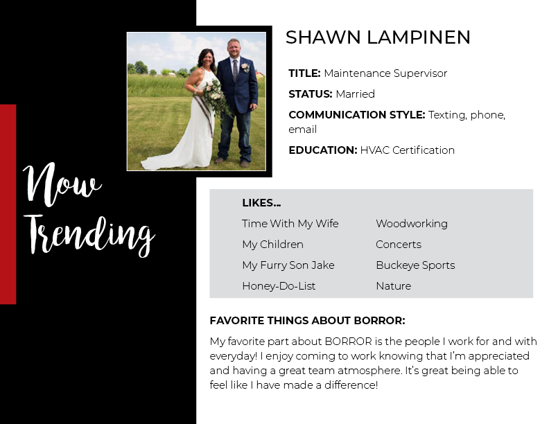 Now Trending – Shawn Lampinen