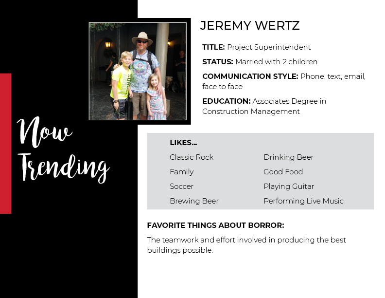 The Beeker Team Jeremy Wertz