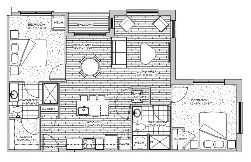 The Jerome Floor Plan