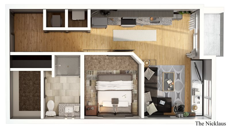 The Nicklaus Apartment Floor Plan